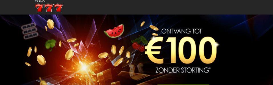 casino777.be €100 gratis